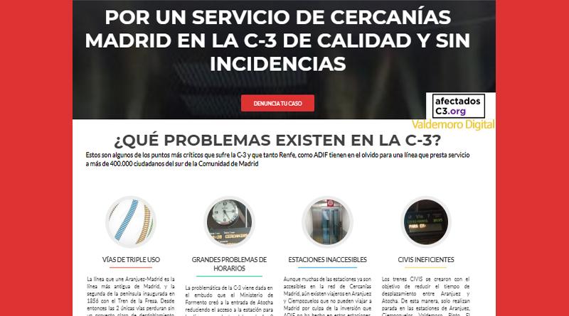 Madrid sur servicio de la línea C3 de Renfe Cercanías