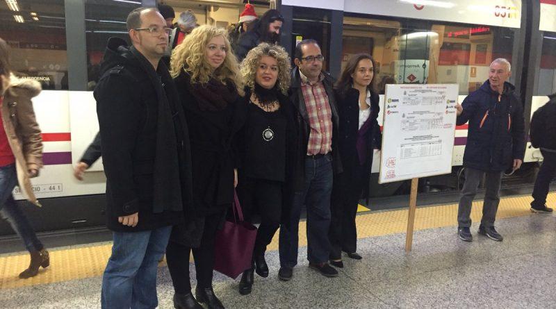 Los alcaldes del Sur de Madrid, reclaman una línea C3 Renfe Cercanías digna