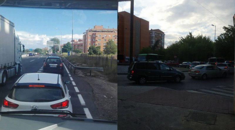 En Valdemoro, Colapsan los túneles bajo la A4