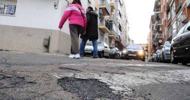 Retrasos en la reparación de vías públicas