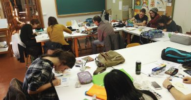 La UPV de Valdemoro, inaugura la exposición de obras del alumnado