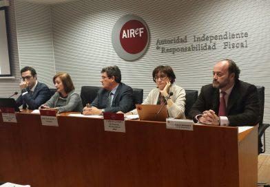 AIReF advierte trata de justificarse en sus incumplimientos