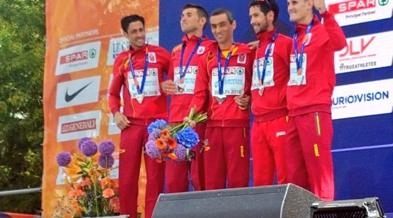Jesús España logra una plata en la maratón por equipos en los Europeos de Atletismo