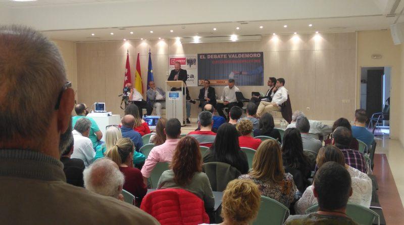 El primer debate entre los candidatos al Ayuntamiento de Valdemoro