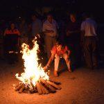 Baile y hogueras en la Noche de San Juan