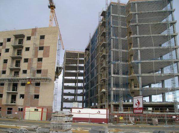 Banda de robos a viviendas en construcción