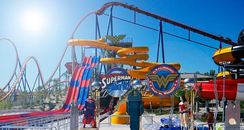 Parque Warner entre los 20 mas visitados