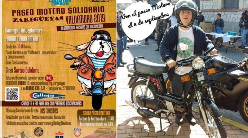 "Paseo Motero Solidario ""Zarigüeyas"""