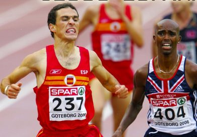 Homenaje al atleta Jesús España