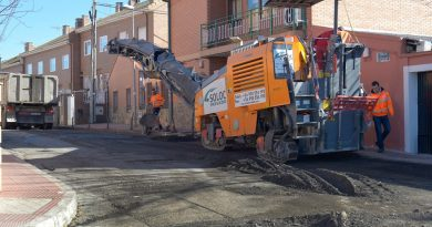Valdemoro, primera fase de asfaltado