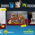 Ganadora de Belenes reciclados 2019