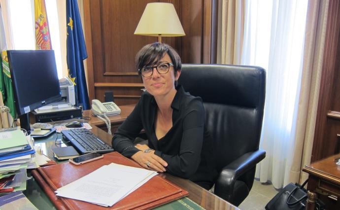 María Gámez al frente de la Benemérita