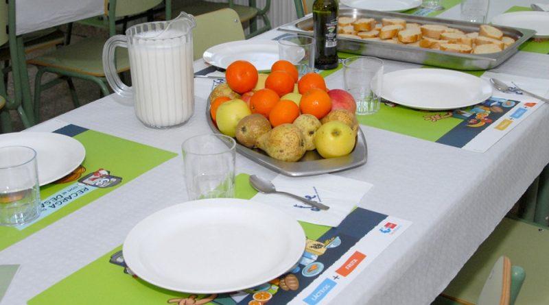 Educación nutricional 'Desayunos saludables'