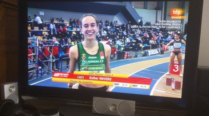 Esther Navero medalla de bronce