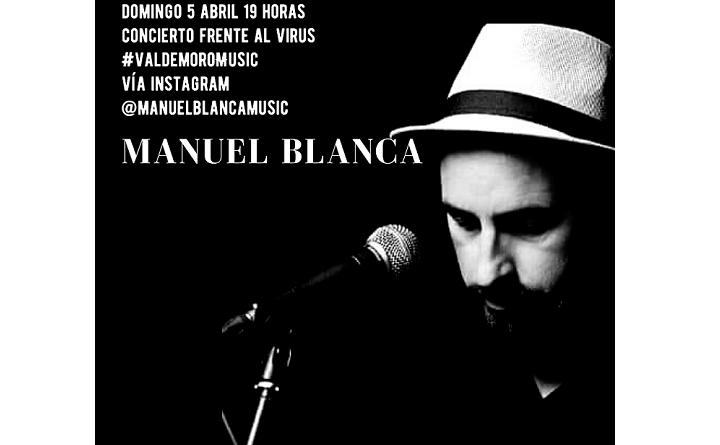 Manuel Blanca en concierto el domingo 5