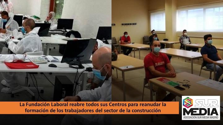 La Fundación Laboral reabre sus Centros