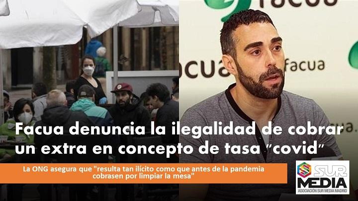"Ilegalidad cobrar tasa ""covid"""
