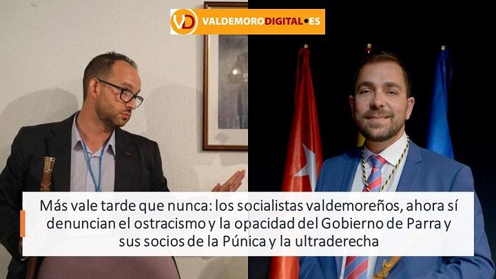 Socialistas disconformes con Gobierno de Valdemoro