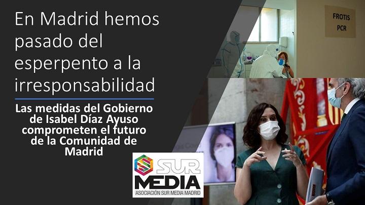 Madrid pasa del esperpento a la irresponsabilidad