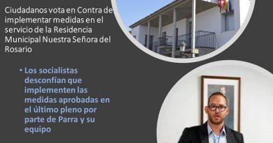 Contra las medidas especiales en la Residencia Municipal