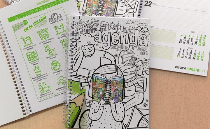 Comenzó la distribución de las agendas escolares