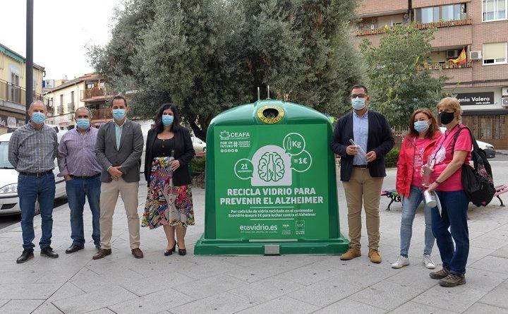 Campaña de Ecovidrio a favor de CEAFA
