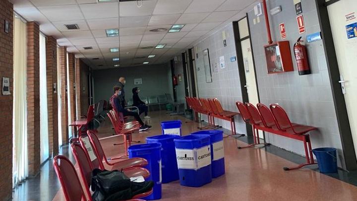 Lamentable estado de centro de salud