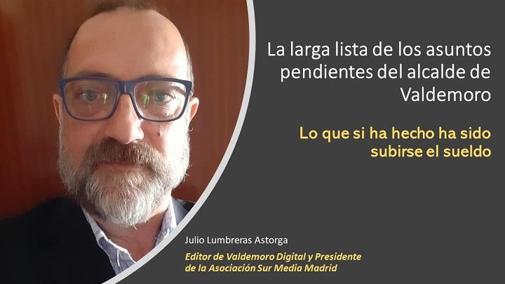 Asuntos pendientes del alcalde de Valdemoro