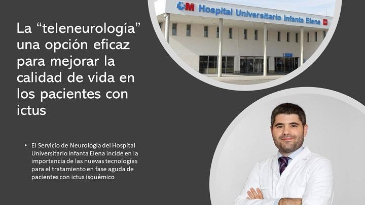 """La """"teleneurología"""" eficaz para pacientes con ictus"""
