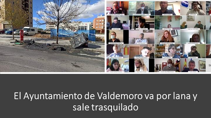 El Ayuntamiento de Valdemoro sale trasquilado