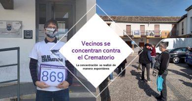 Los vecinos se concentran contra el crematorio