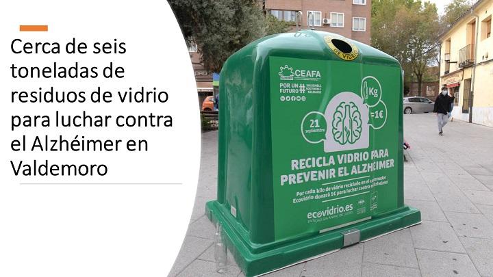 Ecovidrio organiza campaña solidaria