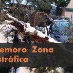 Solicita declaración de zona catastrófica