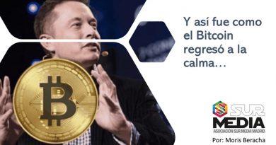 Y así el Bitcoin regresó a la calma