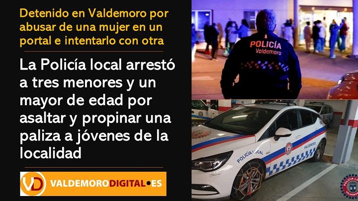 Detenido en Valdemoro por abusar de una mujer