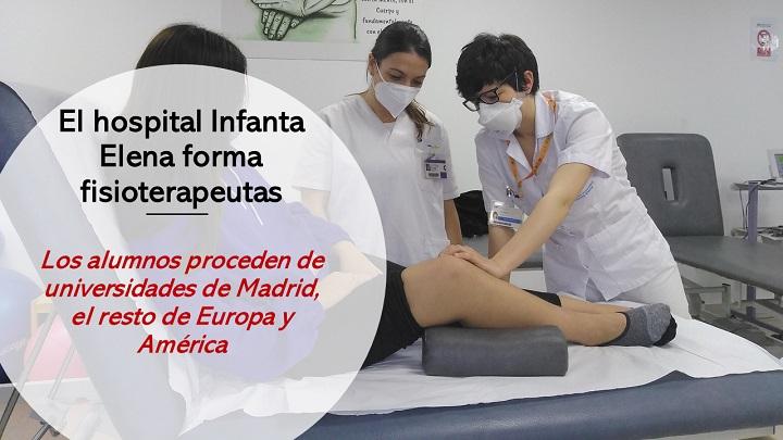Formación en Fisioterapia en el Hospital de Valdemoro