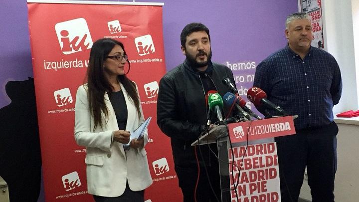 Ratificado acuerdo IU Madrid y Podemos
