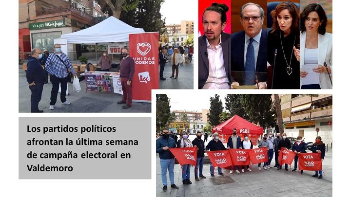 Última semana de campaña electoral
