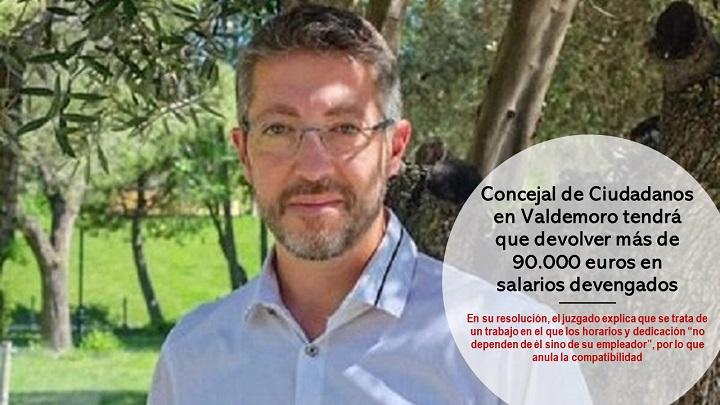 Concejal tendrá que devolver 90.000€