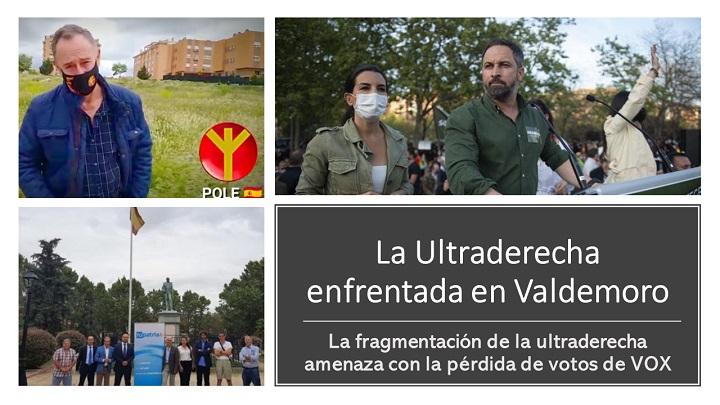 La ultraderecha fragmentada y enfrentada en Valdemoro