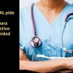 Se pide misma regulación para colectivo sanitario