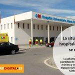 Situación complicada en los hospitales madrileños