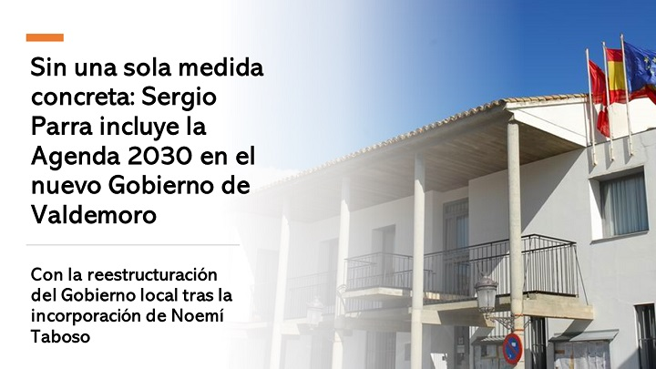 Reestructuración del Gobierno local de Valdemoro