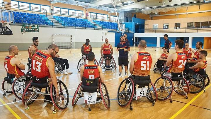 La selección de baloncesto en silla se concentrará en Valdemoro