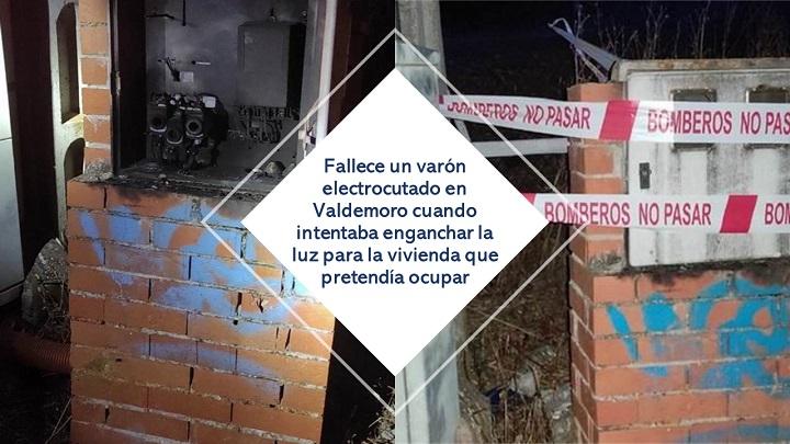 Fallece un varón electrocutado en Valdemoro