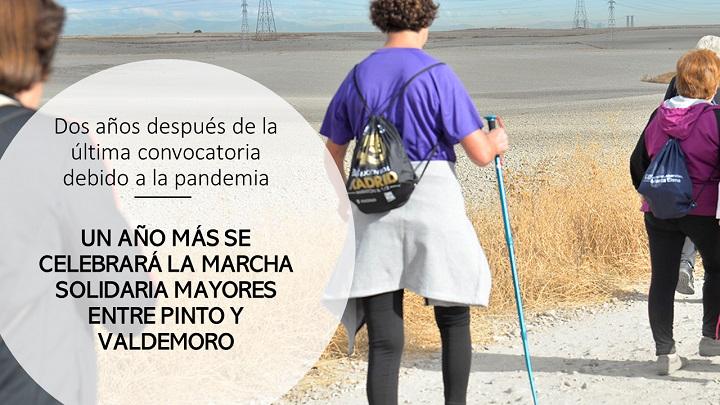 Marcha de mayores entre Pinto y Valdemoro