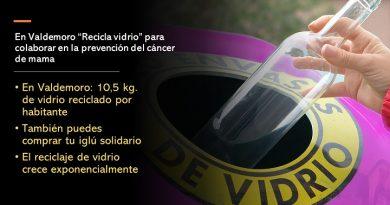 """""""Recicla vidrio"""" contra el cáncer"""